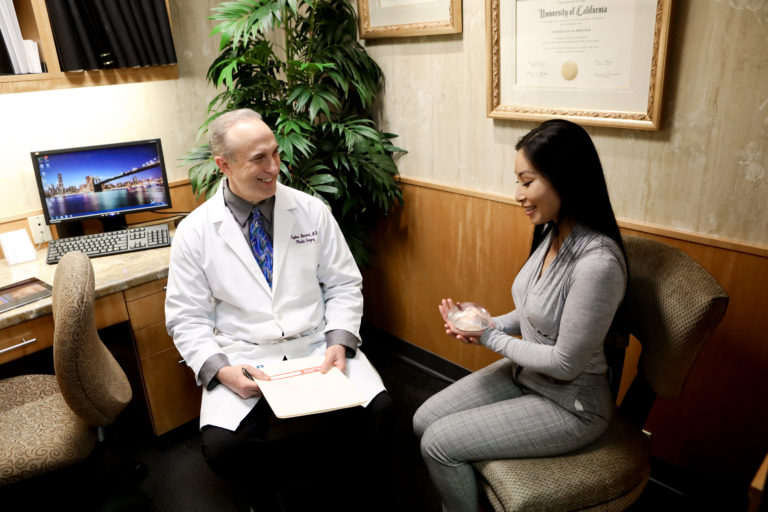 Breast implant consultations in Encino with Dr. Bresnick