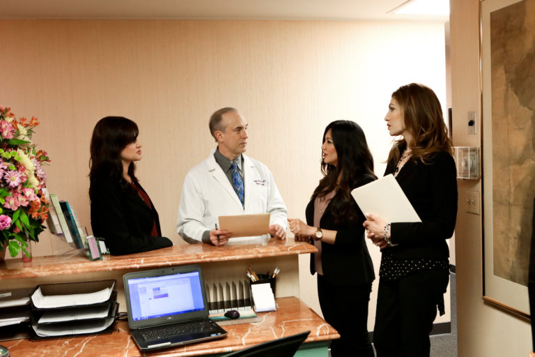 Dr. Stephen Bresnick's plastic surgery team
